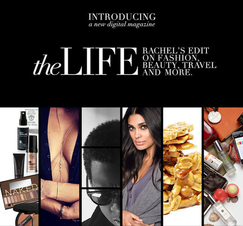 Rachel Roy Launches Digital Magazine And Video Series The Life On rachelroy.com