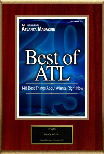 "FLO2S Selected For ""Best Of ATL 2013"". (PRNewsFoto/FLO2S) (PRNewsFoto/FLO2S)"