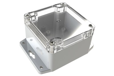 Polycase(R) WC-31F Flange Footed Plastic NEMA Rated Electrical Enclosure (PRNewsFoto/Polycase)