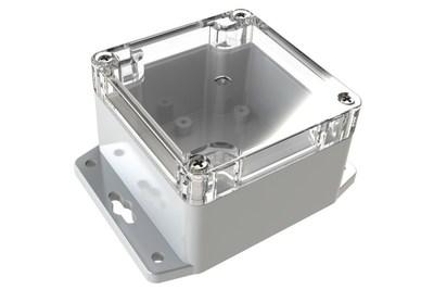 Polycase(R) WC-31F Flange Footed Plastic NEMA Rated Electrical Enclosure (PRNewsFoto/Polycase)