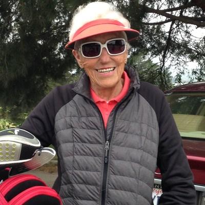 Ida Trammel, 91-Year-Old Winner of the Olivas Links Women's Golf Club 2016 President's Cup