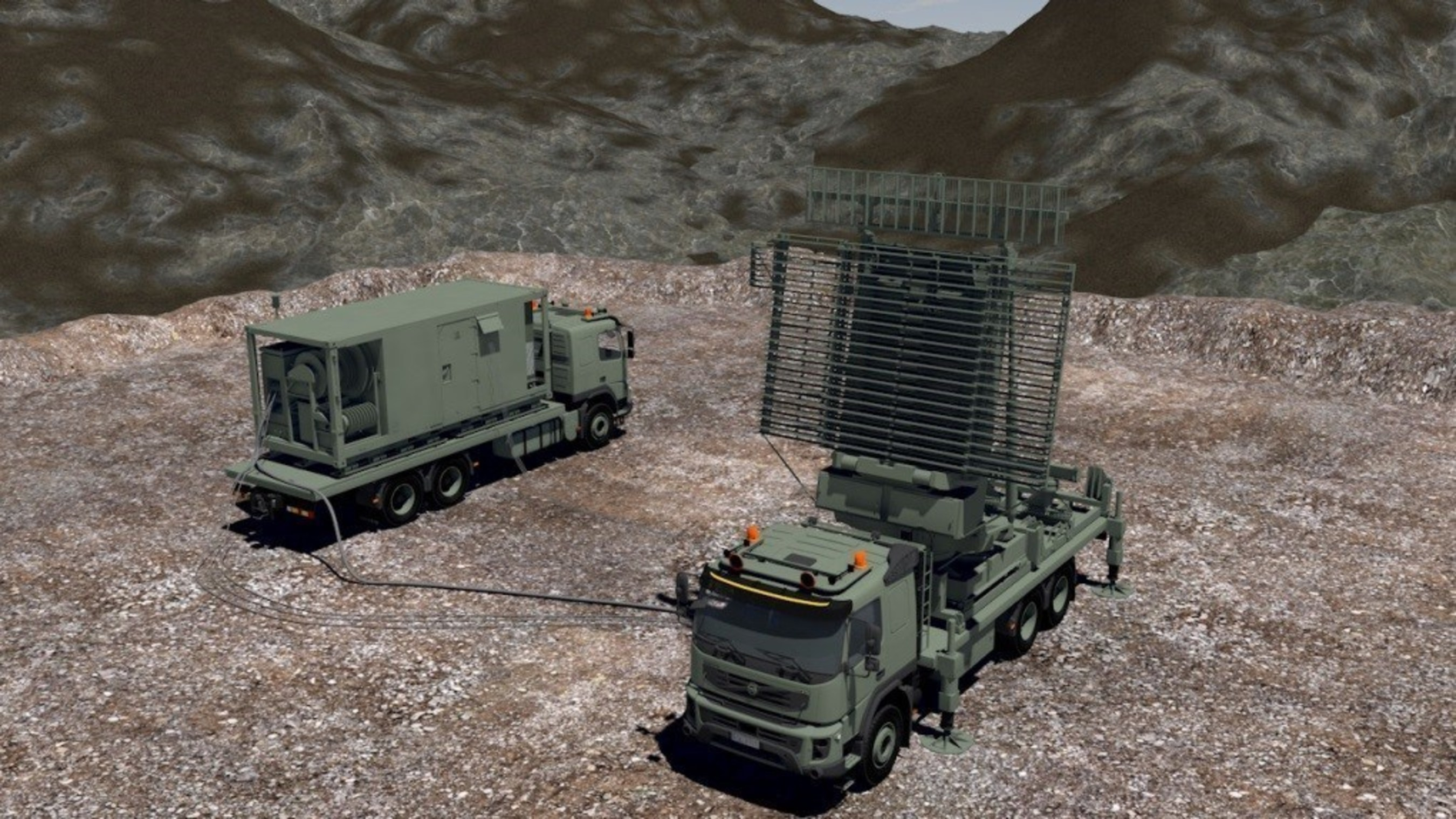 Trust Automation contributes to Lockheed Martin's TPS-77, a highly mobile radar system