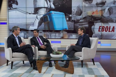 Dr. Mehmet Oz, Dr. Richard Besser and Dr. Sanjay Gupta discuss the global Ebola Virus threat in the Season 6 premiere of