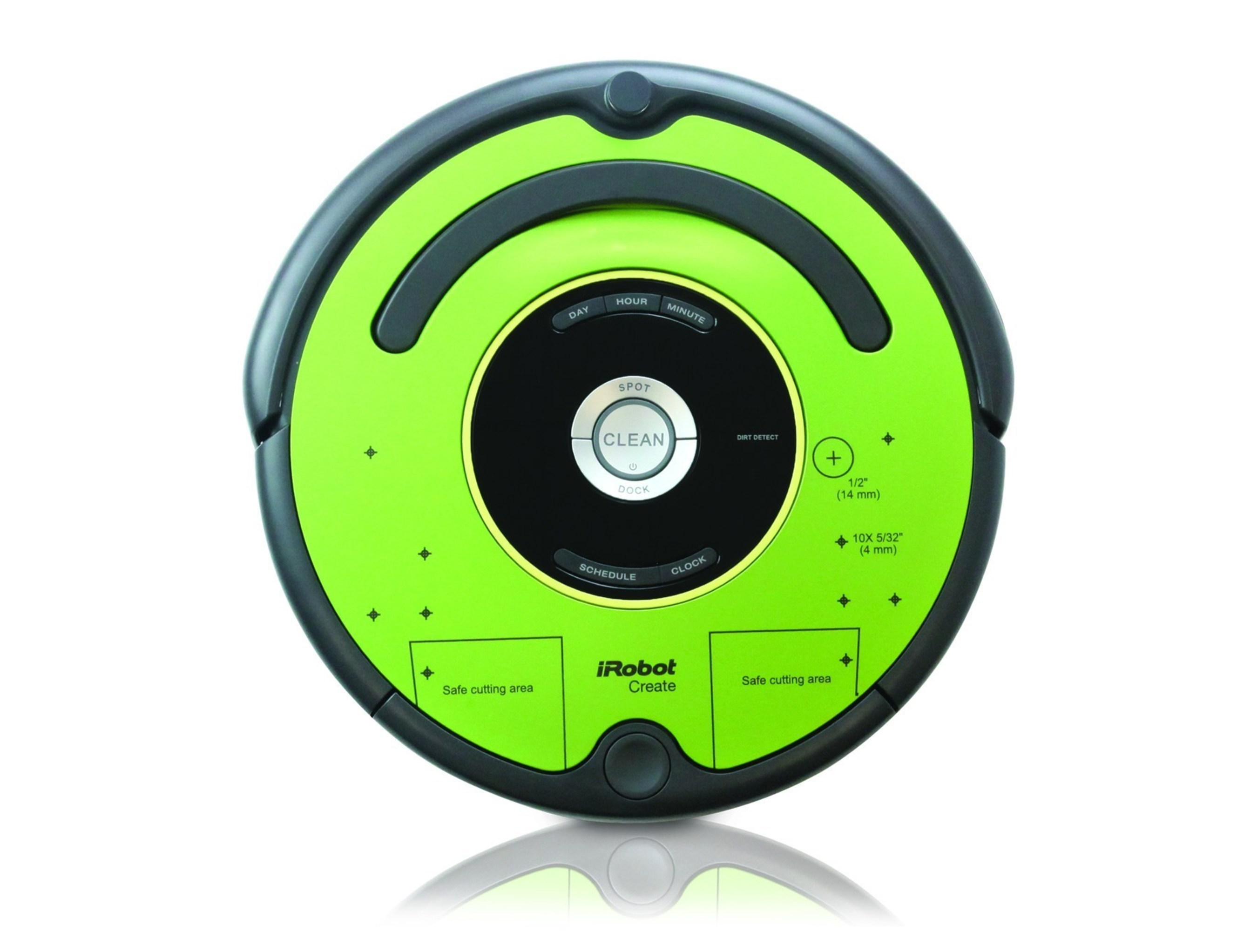 iRobot Create 2 is a preassembled mobile robot based on the Roomba 600 Series that provides an out-of-the-box ...