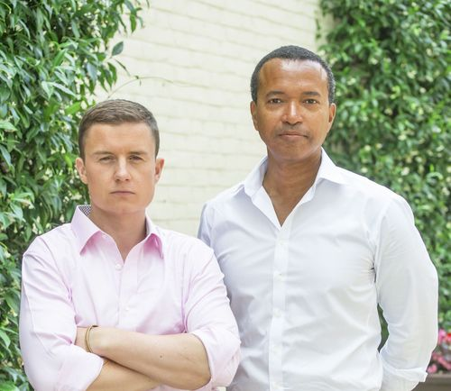 Will Tindall (LHS) and Lucien Moolenaar (RHS), the Co-Founders of Emerging Crowd, both have significant experience advising, structuring and executing private capital transactions in emerging and frontier markets across multiple continents. Most recently Will was the Director of Business Development for a large investment operating group in Central Asia and Lucien was a Director in the Investment Banking Legal Department of Merrill Lynch in both the London and Johannesburg offices. (PRNewsFoto/Emerging Crowd Ltd)