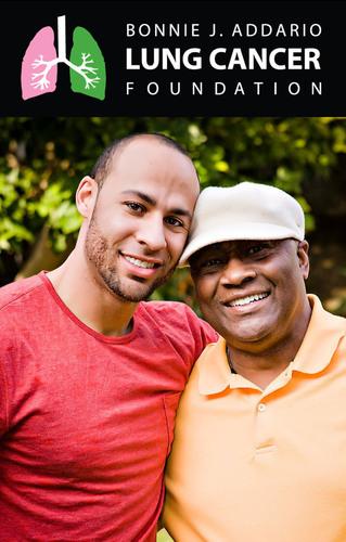 """Hank Baskett and Henry Randall """"Hank"""" Basket, Jr.  (PRNewsFoto/Bonnie J. Addario Lung Cancer Foundation)"""