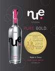 Nue Grapefruit Vodka winner of The San Francisco World Spirits Competition Double Gold Medal.