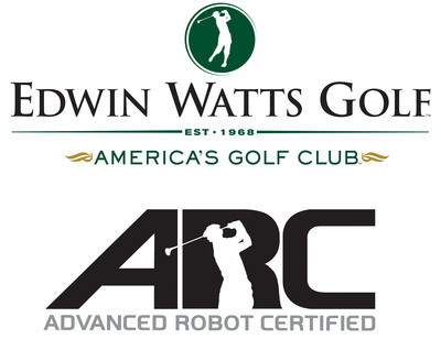 Edwin Watts Golf Advanced Robot Certified Club Matching System.  (PRNewsFoto/Edwin Watts Golf Shops, LLC)