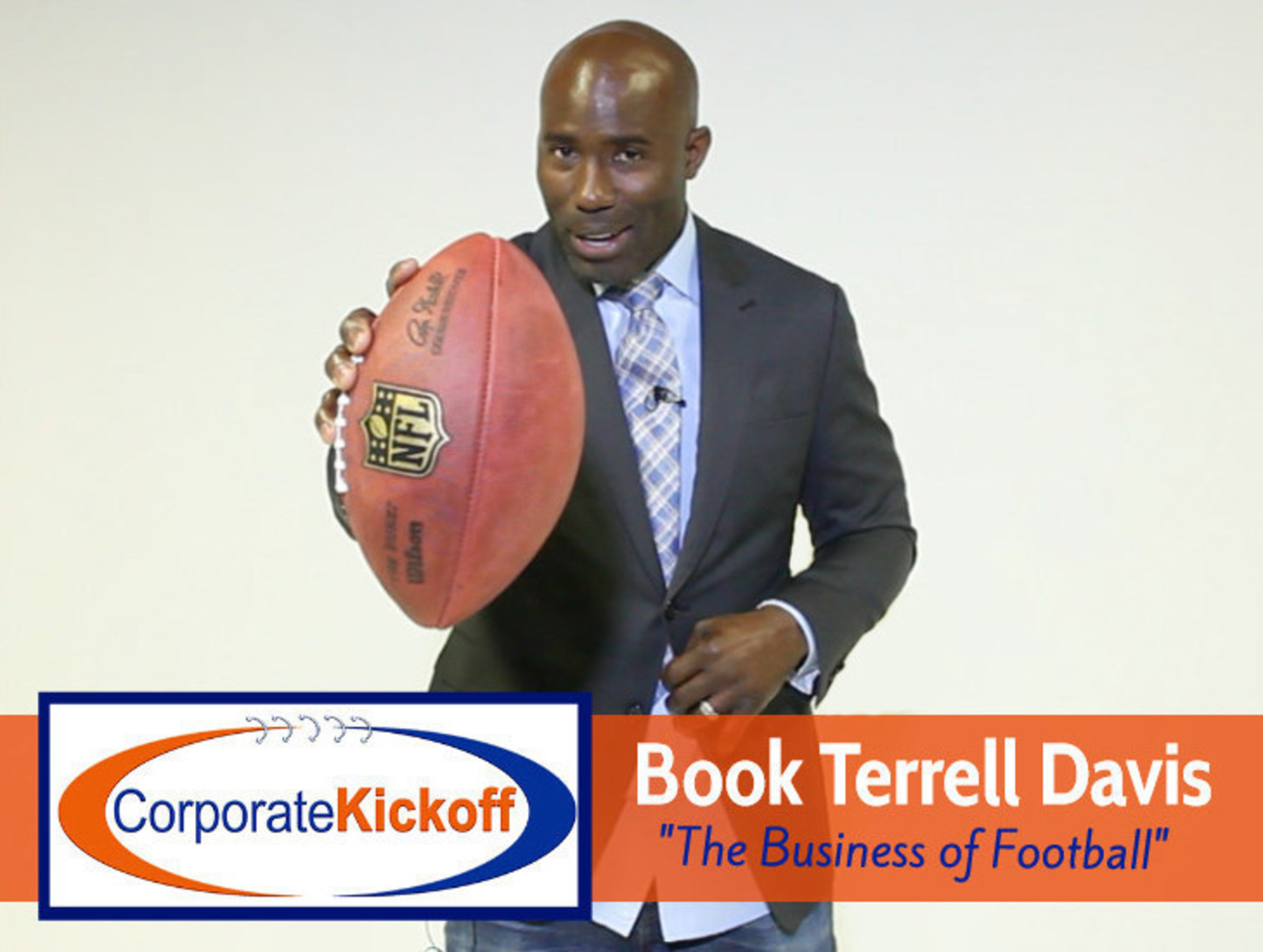 Book Terrell Davis for The Business of Football!