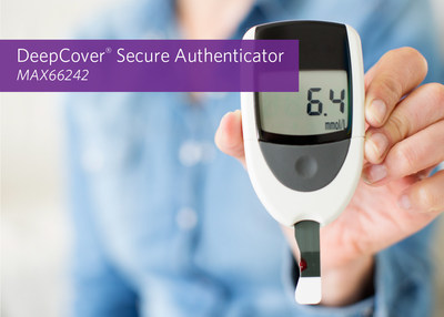 Configure and collect data for any embedded system with Maxim's MAX66242 DeepCover Secure Authenticator.
