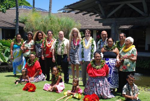 Hotel Hana-Maui Celebrates New Beginning With Traditional Hawaiian Blessing