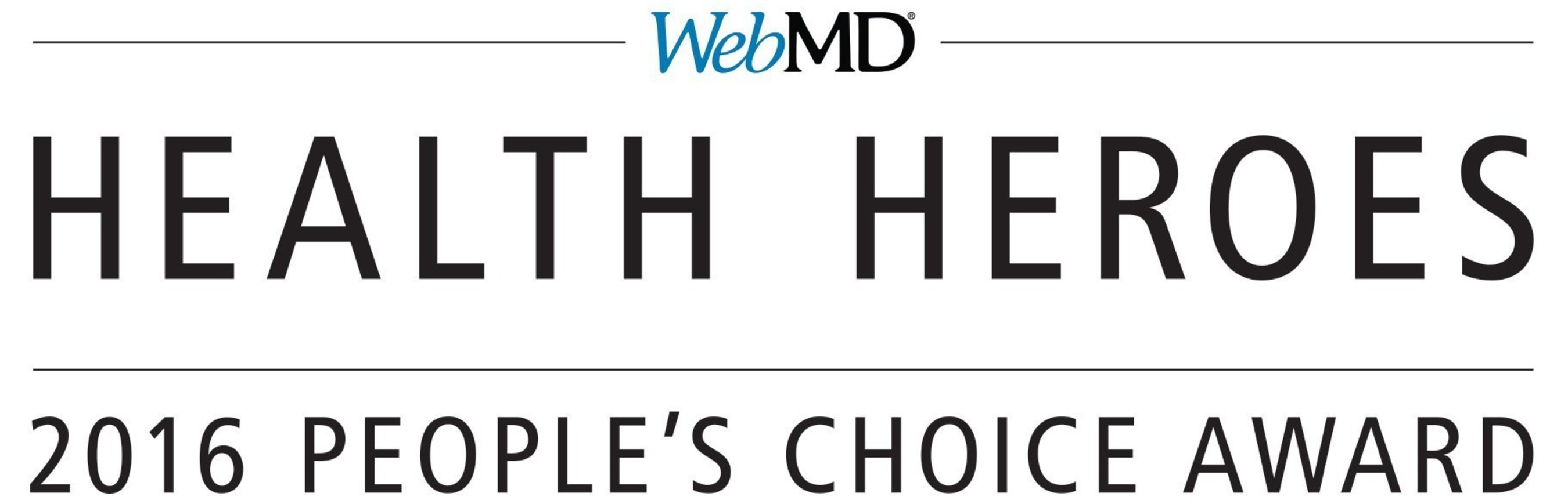 WebMD Announces 2016 People's Choice Award Nominees for Annual Health Hero Awards