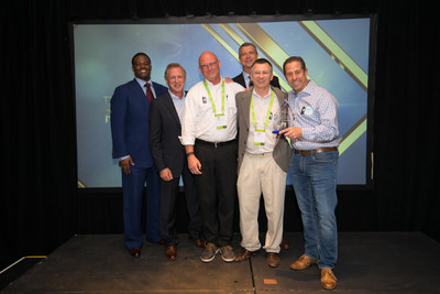 Merlin accepts NetApp E-Series Big Data Partner of the Year Award