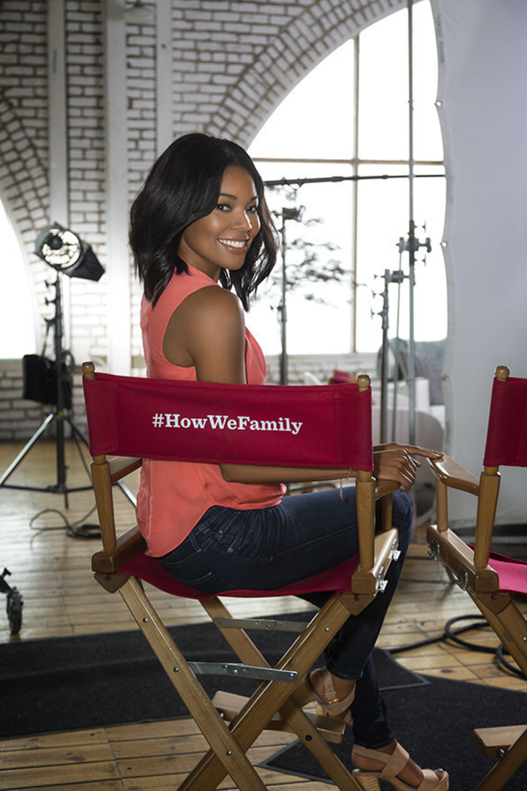 Gabrielle Union Partners with TYLENOL(R) to Celebrate and Ignite a Conversation Around #HowWeFamily To Show It Isn't Who You Love But How, That Matters Most.
