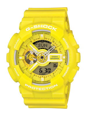 G-SHOCK Releases GA-110 Pairing With Baby-G