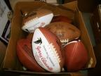 Former NFL head coach Jerry Glanville will host a living estate sale on May 15-17 at his lake house in Dawsonville, Ga. Among the items for sale are one-of-a-kind collectibles, including several of Glanville's game balls - all printed with his name, the game scores and dates - will be available at the sale. (PRNewsFoto/WorthPoint Corporation)