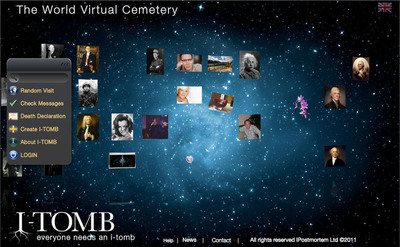 I-Postmortem Launches the World Virtual Cemetery to Change Forever the Way People Deal with Death.