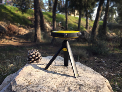 VUZE the first consumer 360 3D Virtual Reality Camera