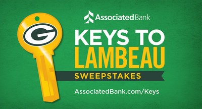 The Associated Bank Keys to Lambeau Sweepstakes offers Packers fans an opportunity to win an exclusive tour of Lambeau Field.
