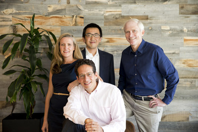 Partners at Canvas Ventures (L to R): Rebecca Lynn, Paul Hsiao, Gary Little, and Ben Narasin (sitting). Photo Credit: Mark Leet