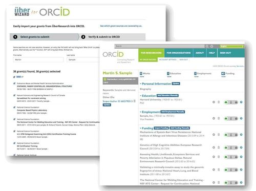 UberWizard for ORCID (PRNewsFoto/UberResearch)