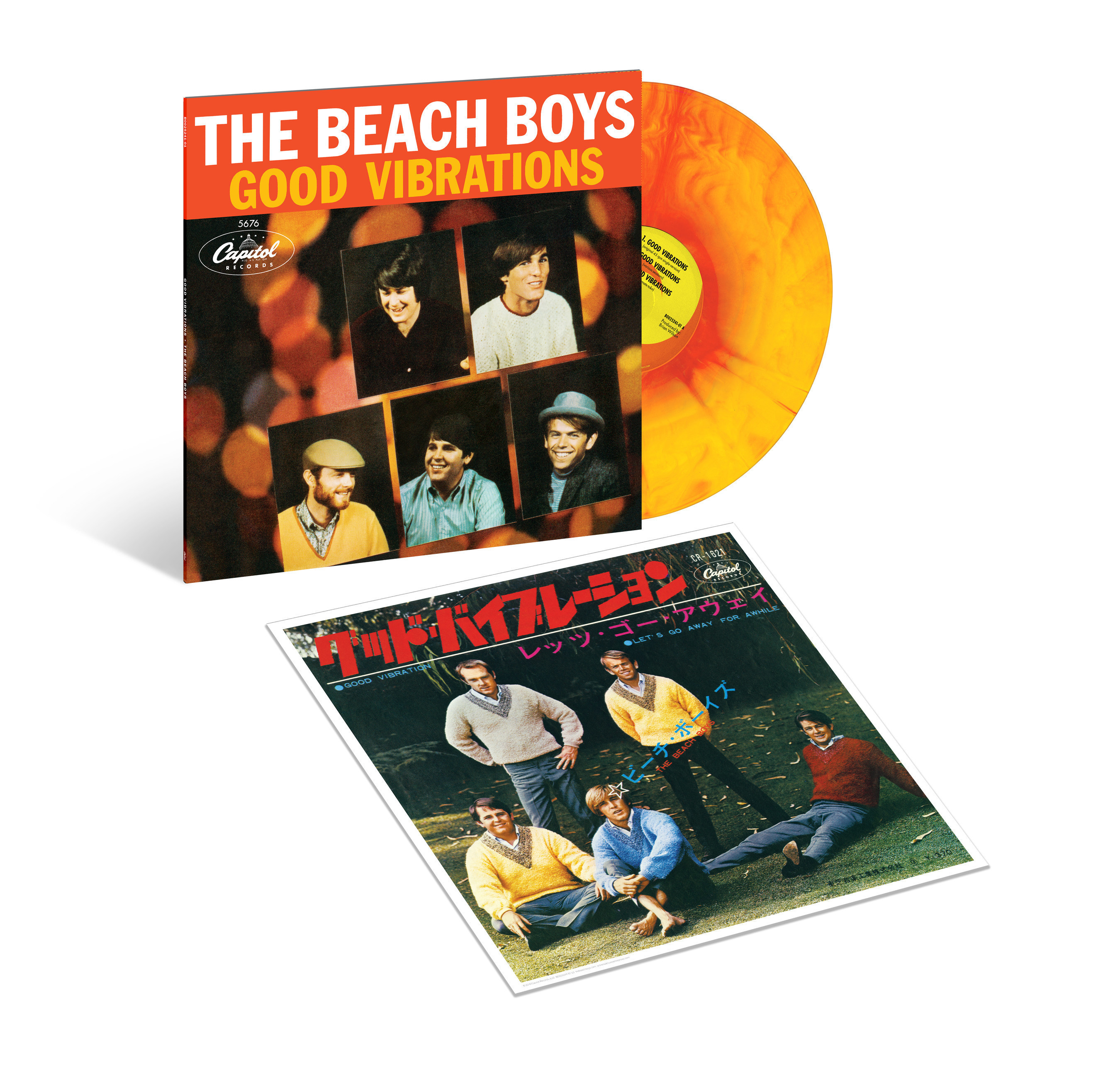 The Beach Boys Celebrate 50 Years Of 'Good Vibrations' With Commemorative Sunburst Vinyl EP