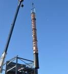 Michter's Distillery installs new copper still.