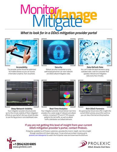 PLXportal Infographic.  (PRNewsFoto/Prolexic Technologies)