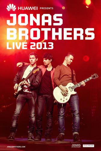 Huawei Sponsors Jonas Brothers Tour.  (PRNewsFoto/Huawei)