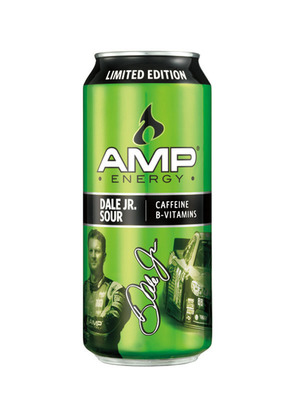 The new AMP Energy Dale Jr. Sour can, available exclusively at participating 7-Eleven stores