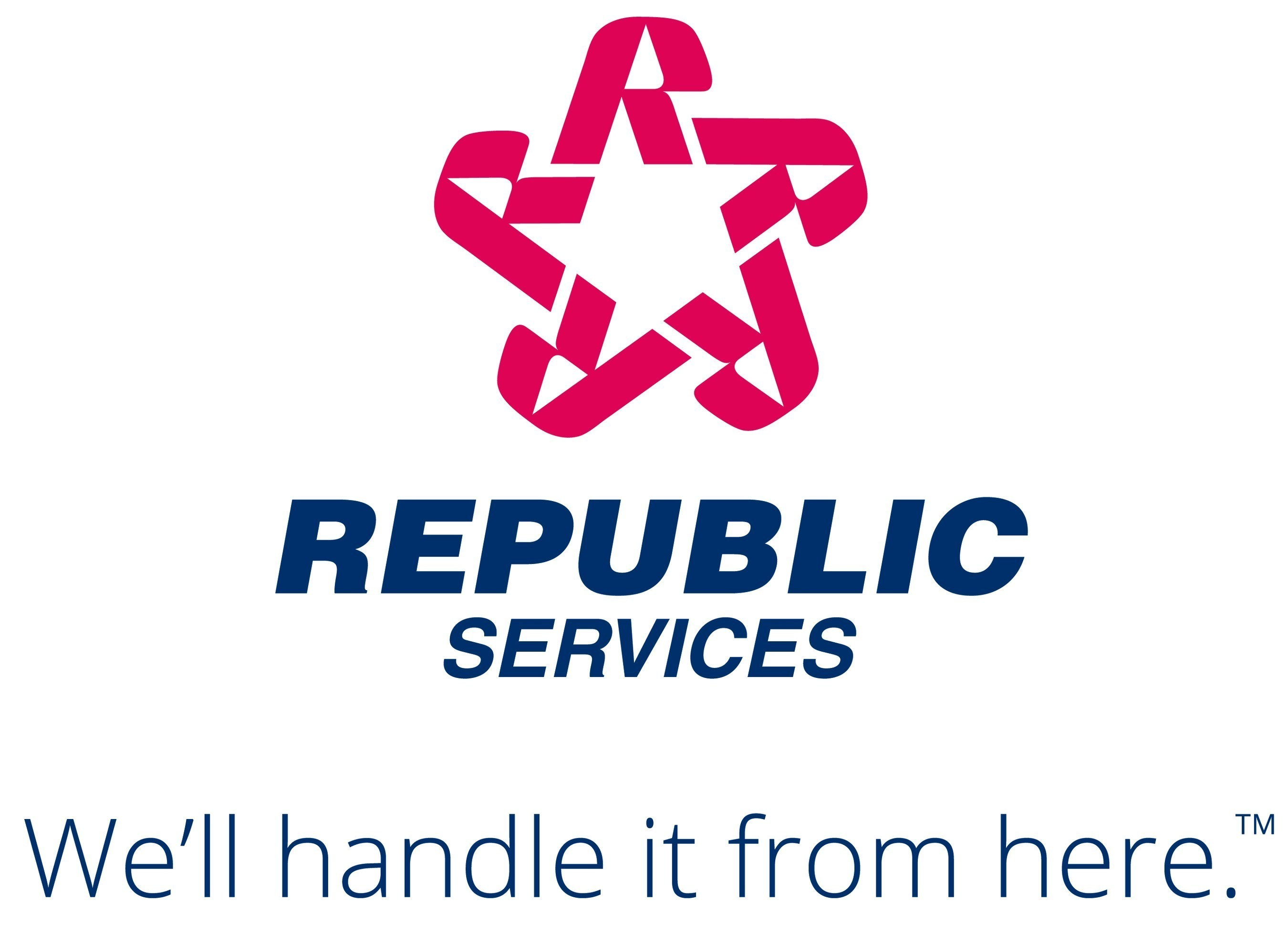 We'll handle it from here. (PRNewsFoto/Republic Services, Inc.) (PRNewsFoto/Republic Services, Inc.) (PRNewsFoto/Republic Services, Inc.)