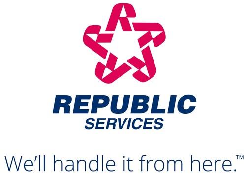 We'll handle it from here. (PRNewsFoto/Republic Services, Inc.) (PRNewsFoto/Republic Services, Inc.) ...