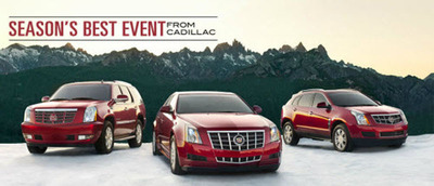 Cadillac's Season's Best event has more drivers looking to take advantage of Sheboygan Cadillac's auto financing program. (PRNewsFoto/Sheboygan Cadillac) (PRNewsFoto/SHEBOYGAN CADILLAC)