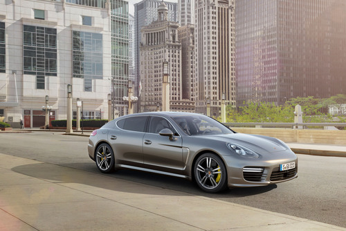 New top model in the range: The Porsche Panamera Turbo S. (PRNewsFoto/Porsche Cars North America, Inc.)