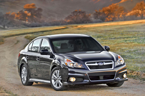 Re-Styled 2013 Subaru Legacy(R) to Debut at the 2012 New York International Auto Show.  (PRNewsFoto/Subaru of ...