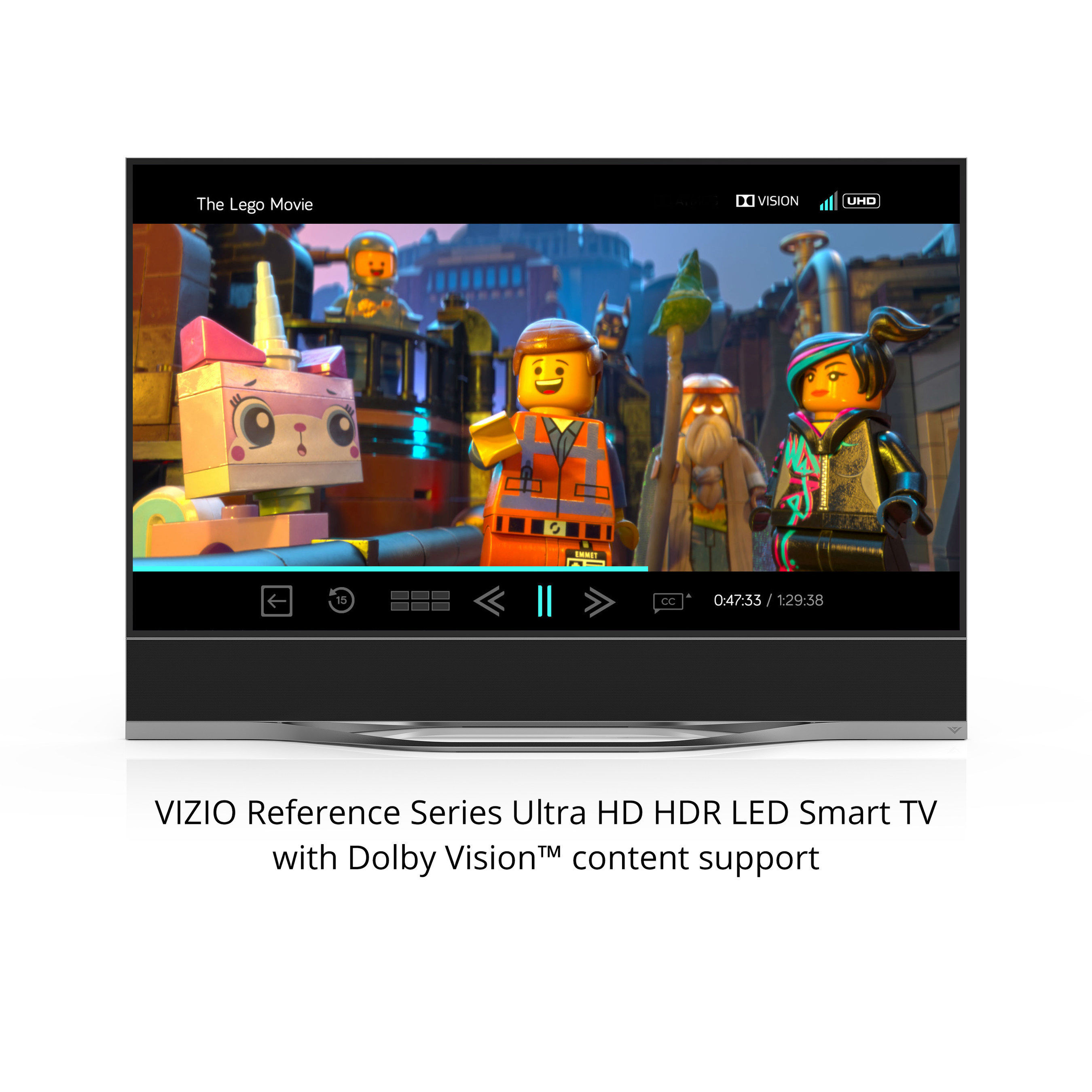 VIZIO Announces Pricing and Availability for Highly Anticipated Reference Series Collection Featuring Dolby Vision High Dynamic Range Support