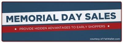 Early Memorial Day Sales Provide Springboard to Big Summer Savings
