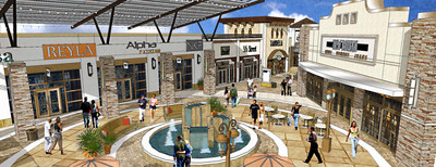 Tanger Outlets Rendering 3 Center Court
