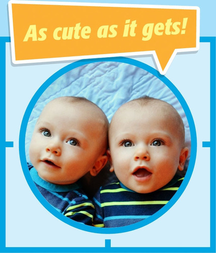 Levi and Paxton Strickland's Winning Photo from the Gerber Photo Search 2013. (PRNewsFoto/Gerber) ...