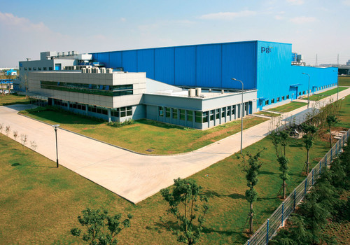 Charlotte, N.C. - Polymer Group Inc.'s (PGI) Suzhou, China plant expansion earns LEED silver level certification for green building, energy efficiency and high performance. Source: PGI.  (PRNewsFoto/Polymer Group, Inc.)