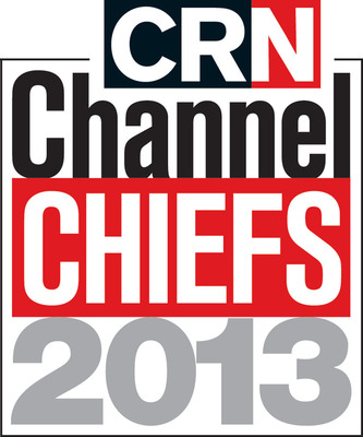 CRN Channel Chiefs 2013 logo.  (PRNewsFoto/UBM Tech Channel)
