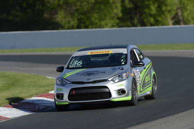 Kia Forte Koup privateer program scores back-to-back wins at Mid-Ohio Sports Car Course