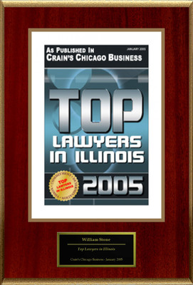 "William Stone Selected For ""Top Lawyers in Illinois.""  (PRNewsFoto/American Registry)"