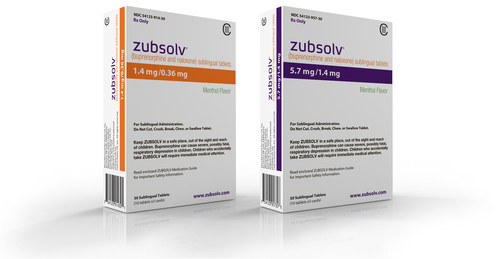 ZUBSOLV Packaging
