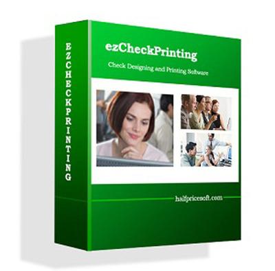 ezCheckPrinting: free check printing software from halfpricesoft.com.  (PRNewsFoto/Halfpricesoft.com)