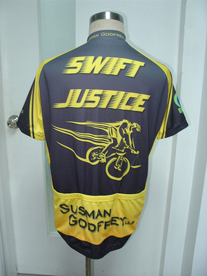 "Susman Godfrey's Cycling Team ""Swift Justice"" Rides to Fight Multiple Sclerosis.  (PRNewsFoto/Susman Godfrey L.L.P.)"