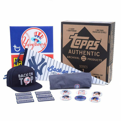 Topps Archive Collections are inspired by the greatest teams and most memorable moments in America's national pastime. This limited edition collection is a must-have for all true Yankees fans. View more at Topps.com.(PRNewsFoto/The Topps Company, Inc.)