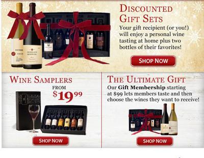 TastingRoom.com's wine gift options.  (PRNewsFoto/TastingRoom.com)