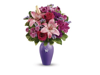 Teleflora's Beautiful Butterfly Bouquet. (Photo courtesy of Teleflora.)