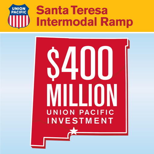Union Pacific facility construction created 3,000 jobs during the build phase from 2011 to 2014. The site will ...